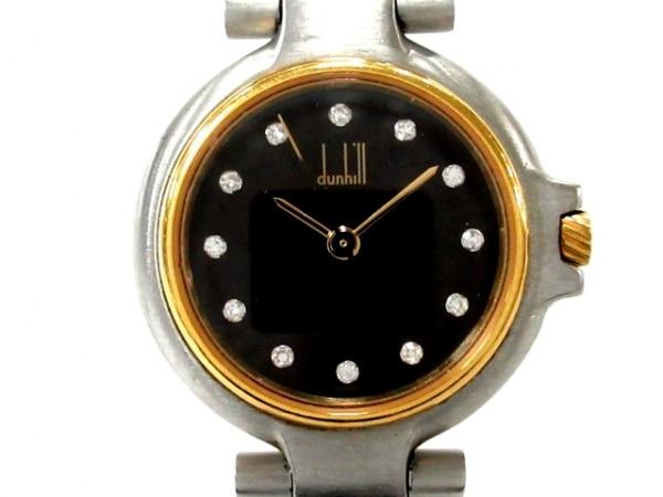 dunhill/ALFREDDUNHILL(ダンヒル) 腕時計 - レディース 黒