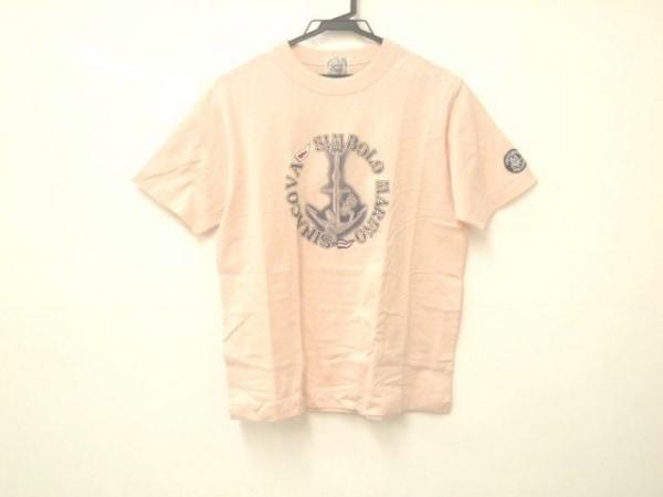 SINACOVA(シナコバ) 半袖Tシャツ サイズM メンズ ピンク LUPO DI MARE