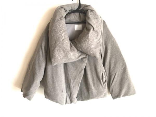 n゜11(ナンバー11) ダウンジャケット レディース ブラウン 刺繍/冬物