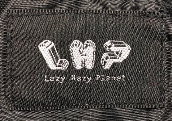 LHP(エルエイチピー) ブルゾン サイズS レディース グレー×黒×マルチ
