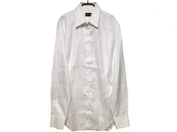 GIORGIOARMANI(ジョルジオアルマーニ) 長袖シャツ サイズ42 XS メンズ 白