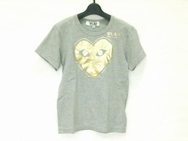 プレイコムデギャルソン 半袖Tシャツ サイズS レディース美品  ハート