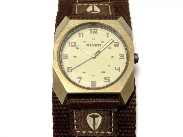 NIXON(ニクソン) 腕時計 THE SCOUT - ボーイズ アイボリー