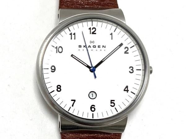 SKAGEN(スカーゲン) 腕時計 SKW6082 メンズ 白