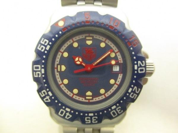 TAG Heuer(タグホイヤー) 腕時計 WA1410 レディース ネイビー