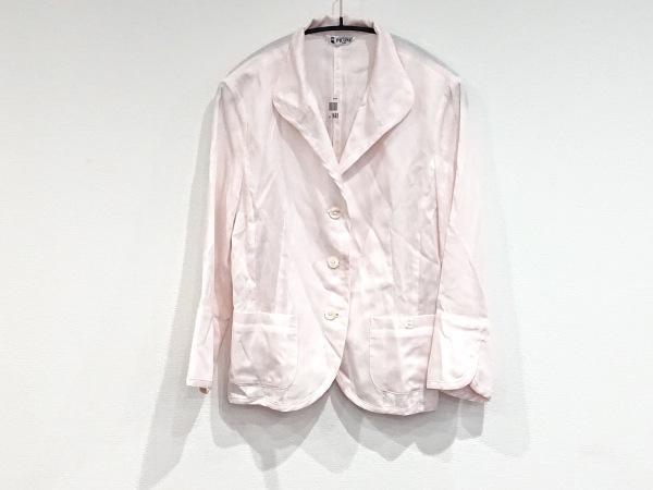 PICONE(ピッコーネ) ジャケット レディース美品  ピンク×白