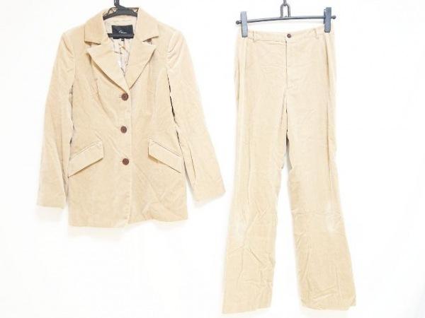 LOUNIE(ルーニィ) レディースパンツスーツ サイズ38 M レディース ベージュ ベロア