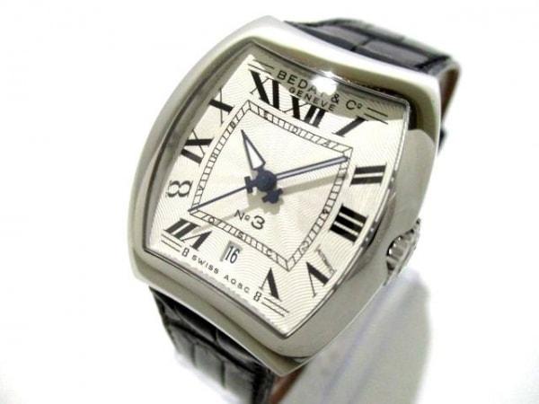 BEDAT&Co(ベダアンドカンパニー) 腕時計 NO.3 314 レディース 革ベルト 白