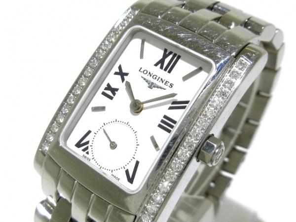 LONGINES(ロンジン) 腕時計 ドルチェビータ L5.502.0 レディース ダイヤベゼル 白