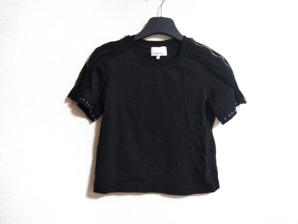 スリーワンフィリップリム 半袖カットソー サイズS レディース美品  黒