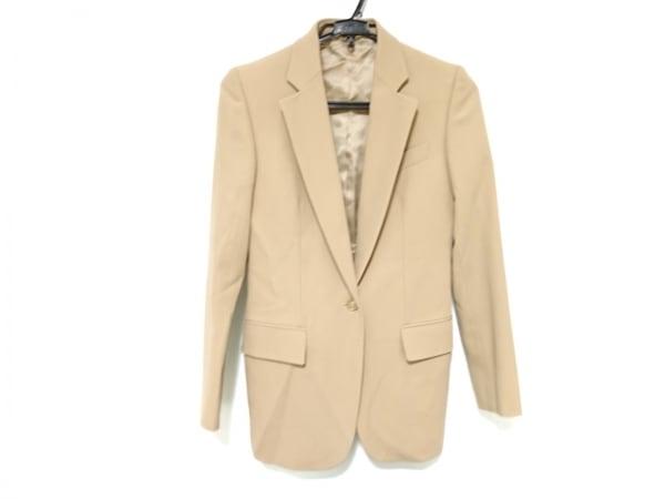 GUCCI(グッチ) ジャケット サイズ38 S レディース ベージュ 肩パッド