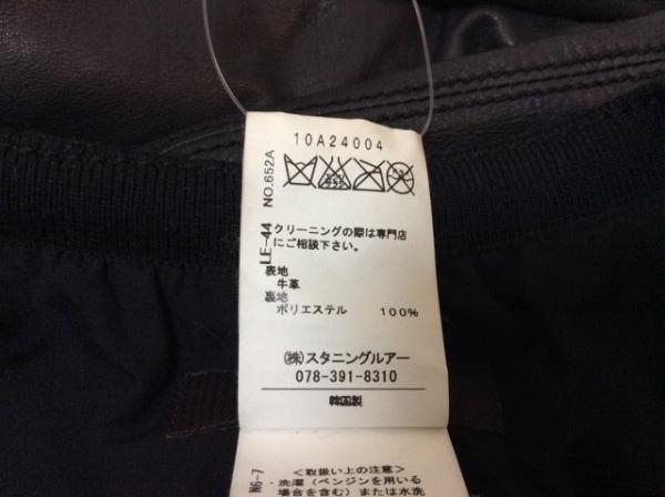 スタニングルアー ブルゾン サイズ38 M レディース 黒 春・秋物/レザー