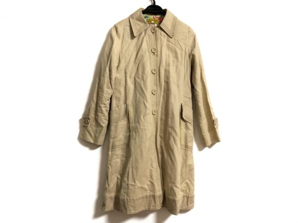 JOCOMOMOLA(ホコモモラ) コート サイズ42 L レディース ベージュ 春・秋物