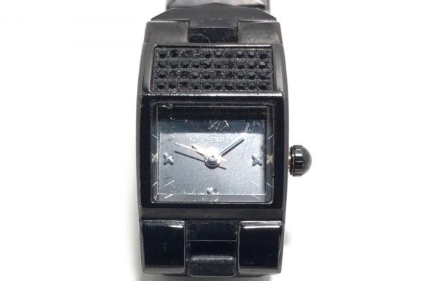 インディペンデント 腕時計 5432-003066-01 レディース ラインストーン 黒
