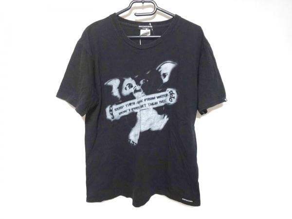 OVER THE STRIPES(オーバーザストライプス) 半袖Tシャツ サイズL メンズ 黒×グレー