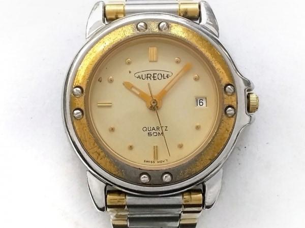 AUREOLE(オレオール) 腕時計 SW-E268 レディース ゴールド