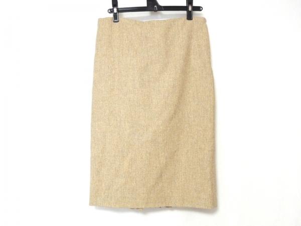 RENA LANGE(レナランゲ) スカート サイズ40 M レディース美品  ベージュ