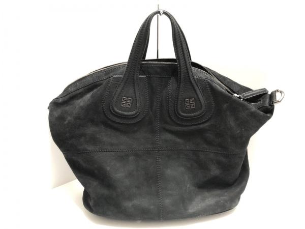 GIVENCHY(ジバンシー) ハンドバッグ ナイチンゲール 黒 ヌバック