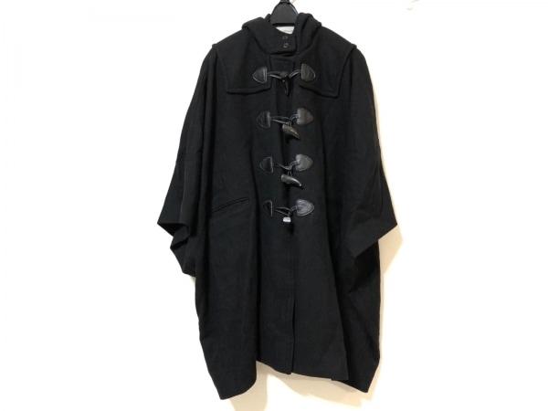 ザシークレットクローゼット コート サイズ1 S レディース 黒 ドルマンスリーブ/冬物
