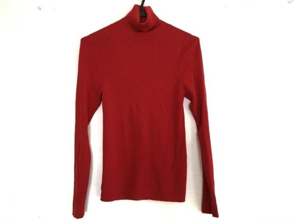 ユマエストネーション 長袖セーター サイズ38 M レディース美品  レッド