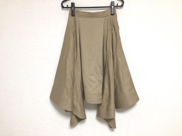 TARO HORIUCHI(タロウホリウチ) スカート サイズ1 S レディース ブラウン
