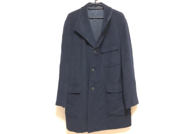 competitive price dde84 7e051 クリスチャンディオール コート サイズ50 XL メンズ ダークネイビー カシミヤ/冬物