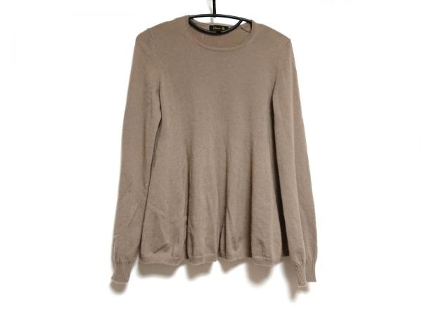 Drawer(ドゥロワー) 長袖セーター サイズ2 M レディース ブラウン