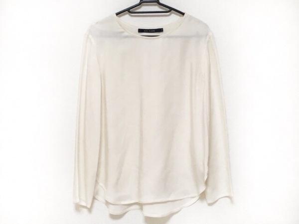 ソフィードール 長袖カットソー サイズ36 S レディース美品  白 シルク