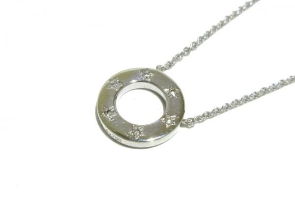 PIAGET(ピアジェ) ネックレス美品  ポセション K18WG×ダイヤモンド スター/6Pダイヤ