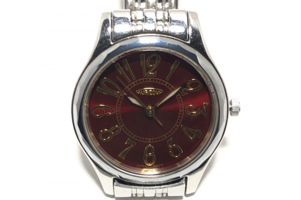 AUREOLE(オレオール) 腕時計 SW-491L レディース ボルドー