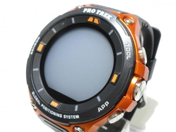 カシオ 腕時計新品同様  プロトレックスマートウォッチ WSD-F20-RG メンズ グレー