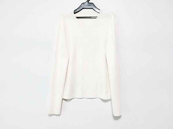 フォクシー 長袖セーター サイズ40 M レディース美品  39117 アイボリー 2018年
