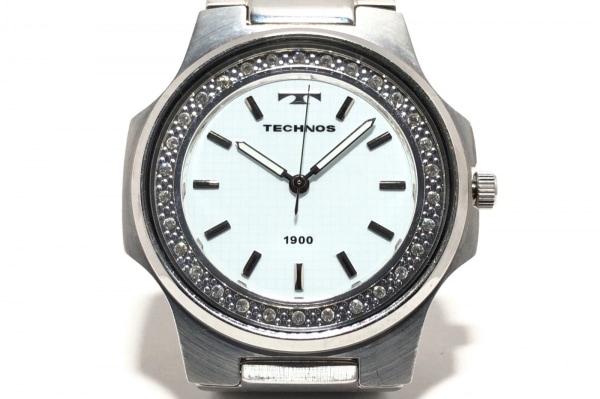 TECHNOS(テクノス) 腕時計 T2591 メンズ 白