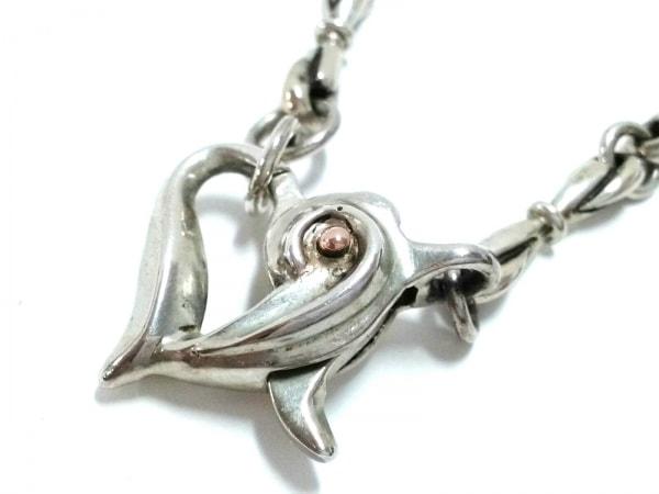 Arpege(アルページュ) ネックレス美品  金属素材 シルバー