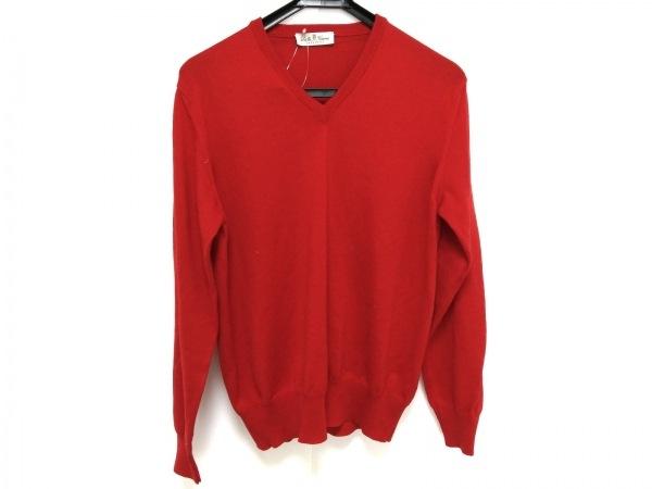 DellaCiana(デラチアーナ) 長袖セーター サイズ44 L レディース レッド