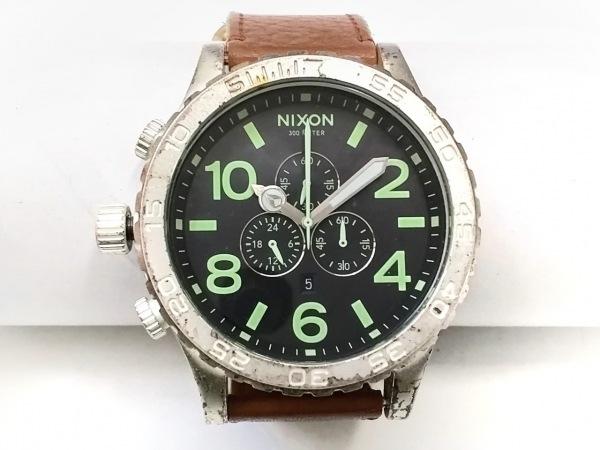 NIXON(ニクソン) 腕時計 THE51-30CHRONO 13K レディース ダークグレー
