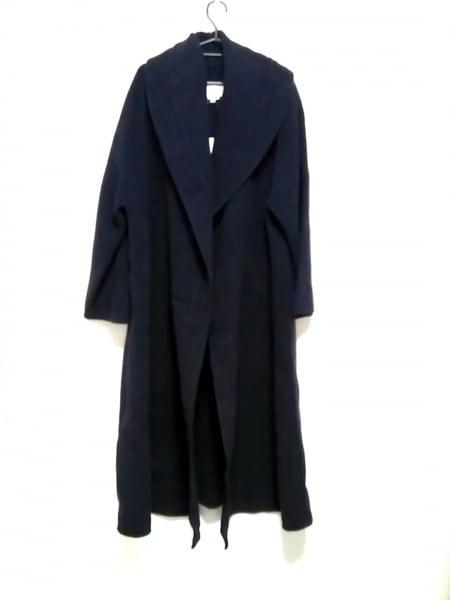 byblos(ビブロス) コート サイズ42 L レディース 黒 冬物