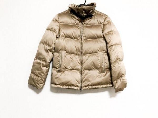 EPOCA(エポカ) ダウンジャケット サイズ40 M レディース美品  ベージュ 冬物