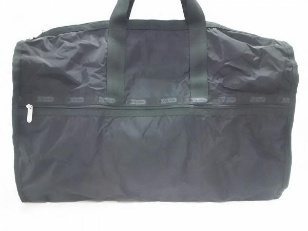 LESPORTSAC(レスポートサック) ボストンバッグ美品  黒 レスポナイロン