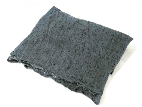 ファリエロサルティ ストール(ショール) ダークグレー 化学繊維×シルク