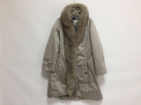 VIOLANTI(ヴィオランティ) コート サイズ46 XL レディース グレーベージュ 冬物
