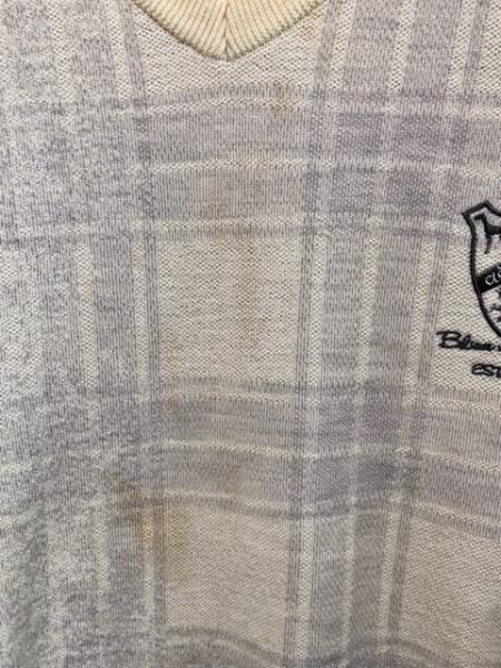 Adabat(アダバット) 長袖セーター サイズ48 XL メンズ チェック柄 5