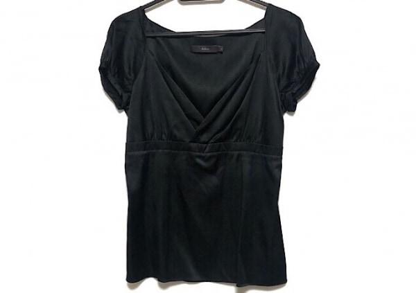 kulson(カルソン) 半袖カットソー サイズS レディース美品  黒 シルク混