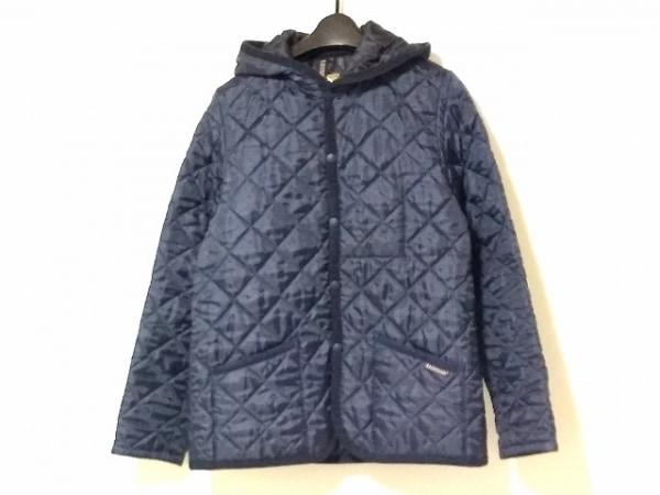 ラベンハム コート サイズ38 M レディース美品  ネイビー キルティング/冬物