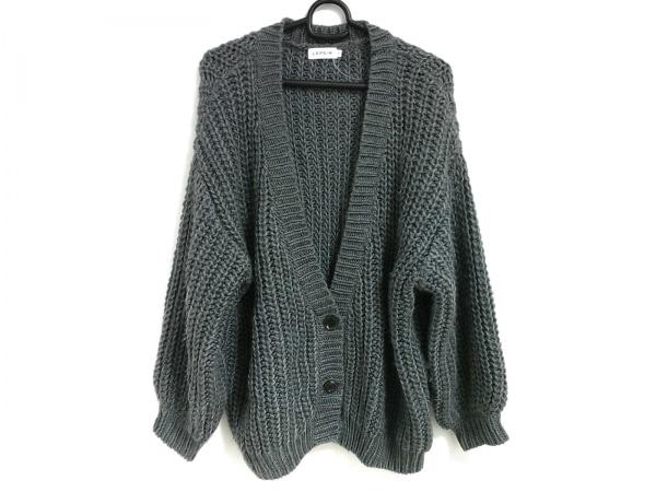 LEPSIM(レプシィム) コート サイズF レディース美品  グレー 冬物/ニット