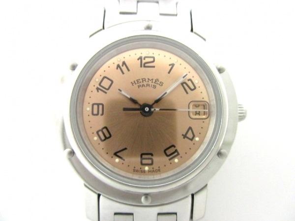 HERMES(エルメス) 腕時計 クリッパー CL4210 レディース ライトブラウン