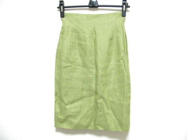 YORKLAND(ヨークランド) スカート サイズ9AR S レディース ライトグリーン