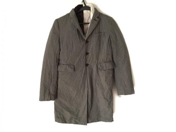 コムデギャルソン ジャケット サイズS レディース グレー×ライトグレー×黒