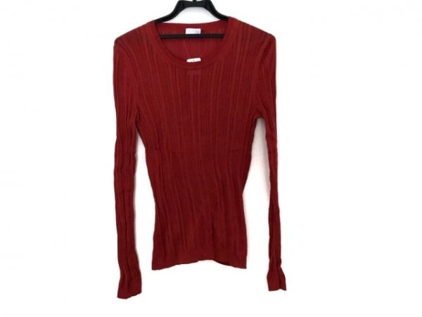 TSE(セイ) 長袖セーター サイズM レディース レッド