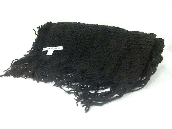 sunao kuwahara(スナオクワハラ) ストール(ショール) 黒 ウール